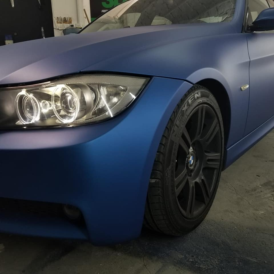 Dark Blue stretch